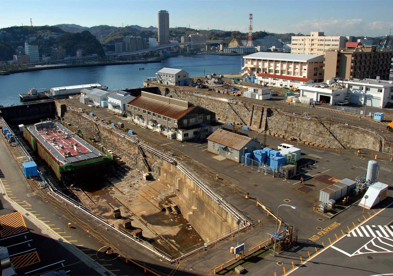 Dry dock (former Yokosuka Steel Works)