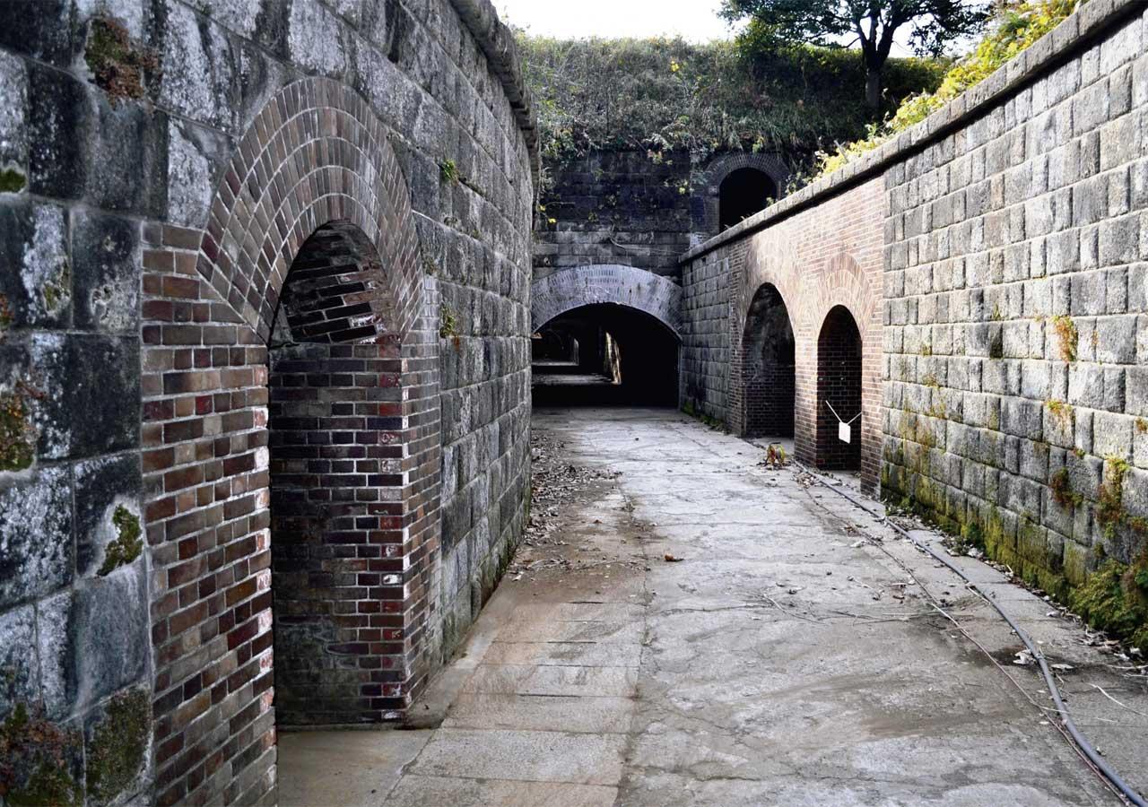 Chiyogasaki Battery Remains